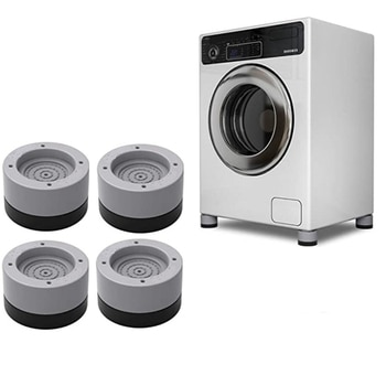 4 pièces Anti Vibration pieds tampons Machine à laver tapis en caoutchouc Anti-Vibration coussinet sèche universel fixe antidérapant