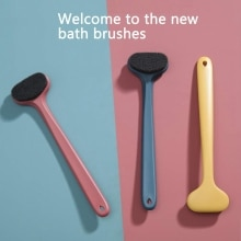 Bath brush with Comfortable Bristles Long Handle Gentle Exfoliation to Improve Skin Health Beauty Sh