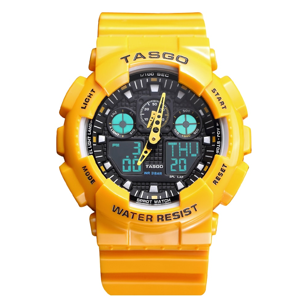 Fashion Digital Watch Military Young Mens Watches Brand New Waterproof Sport Watch Multifunctional Timepiece for Girls Couples