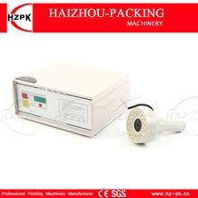 HZPK uchwyt typu butelka indukcyjna folia uszczelniająca zgrzewarka indukcyjna maszyna zgrzewarka do folii aluminiowej do 20-90mm Cap DCGY-F500