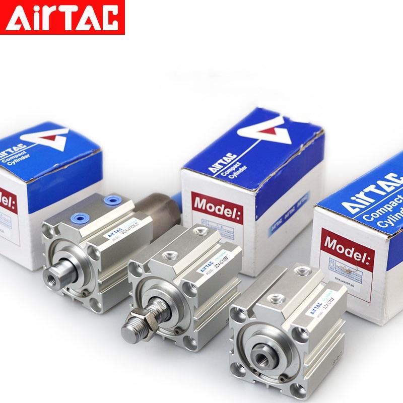 AIRTAC رقيقة اسطوانة SDA63X5 SDA63X10 SDA63X15 SDA63X20 SDA63X25 SDA63X30 SDA63X35 SDA63X45 SDA63X50 SDA63X60