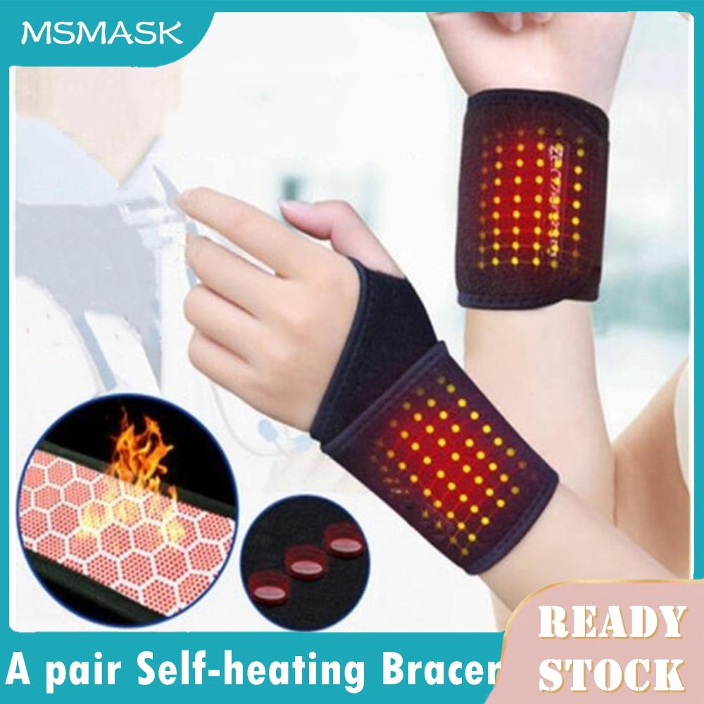 1Pcs Self-heating Magnet Wrist Support Brace Guard Protector Men Winter Keep Warm Band Sports Sales