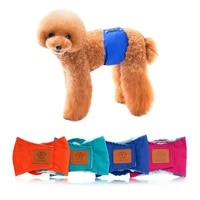 new solid color pet male dog physiological pants dog polite with anti harassment puppy safety pants for dogs sanitary panties