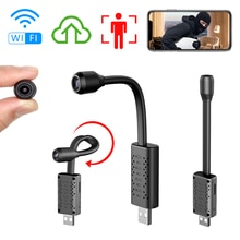 720P Mini Wifi Camera Nanny Camcorder AI Body Shape Recognition Cloud Storage Real Time Monitoring C