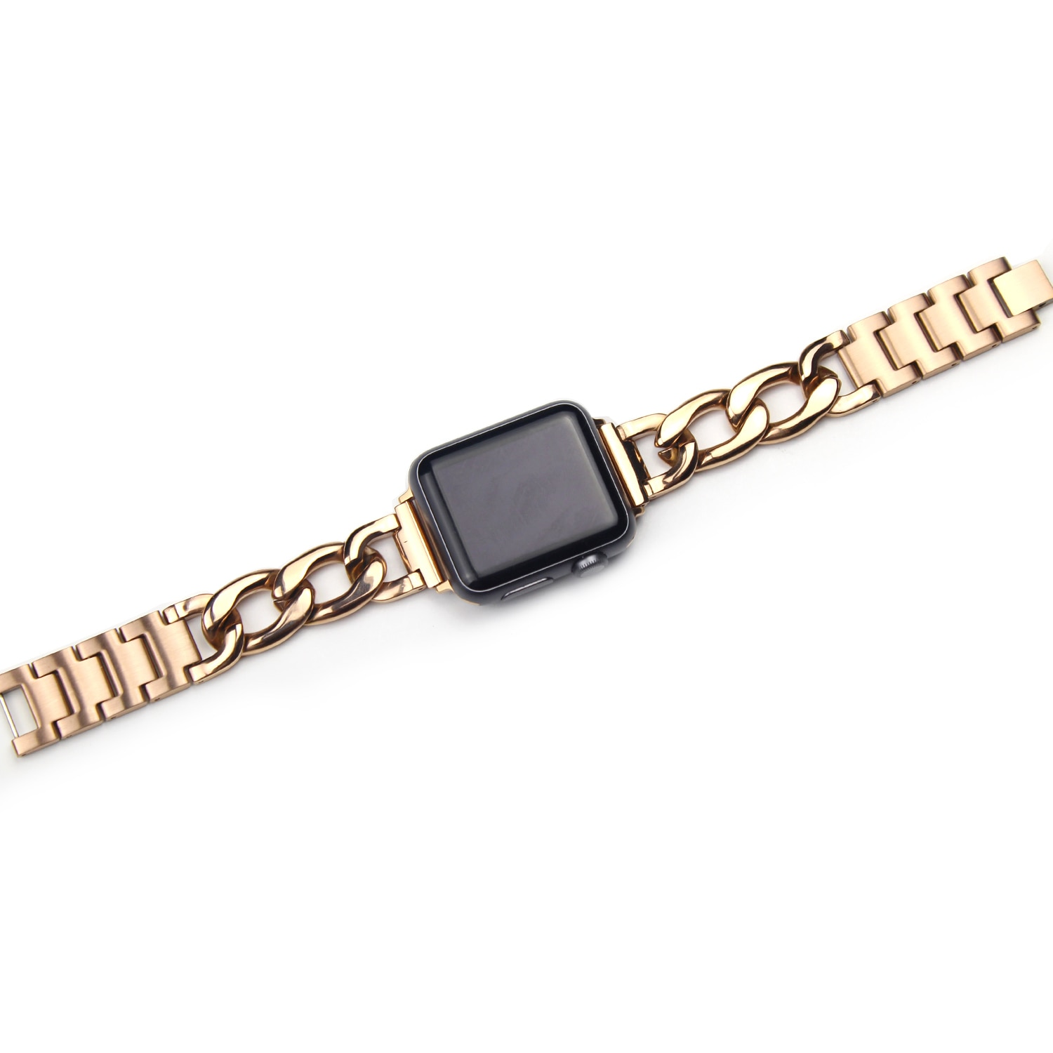 for apple watch band 44mm 40mm 38mm 42mm metal bracelet stainless steel strap for apple watch series se 6 5 4 3 2 1 watchband chain Strap Stainless Steel Band for Apple Watch 6 SE 5 4 40mm 44mm Watchband Bracelet for Iwatch Series 6 5 4 3 2 38mm 42mm