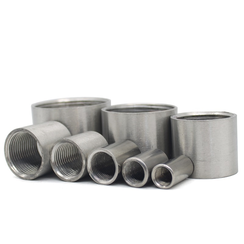 Фото - 304 Stainless Steel Water Pipe Fitting 1/8 1/4 3/8 1/2 3/4 1 1-1/4 1-1/2 2 Straight Female Threaded Pipe Fitting water connection adpater 1 8 1 4 3 8 1 2 3 4 1 1 1 4 1 1 2 female threaded pipe fittings stainless steel ss304