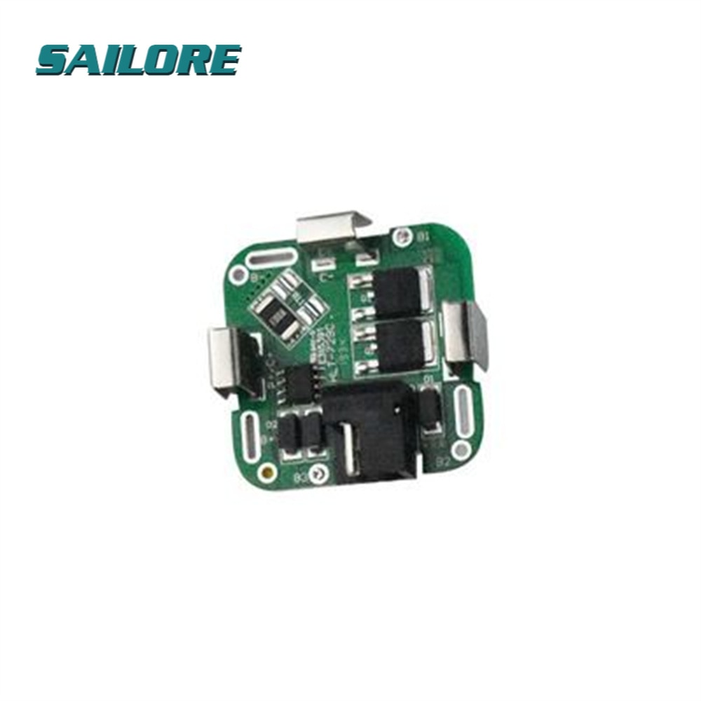 4S 4 Series String 16.8V Lithium Battery Protection Board 14.8V / 16.8V For Power Tools Drill Straight Diy Electronic PCB Module