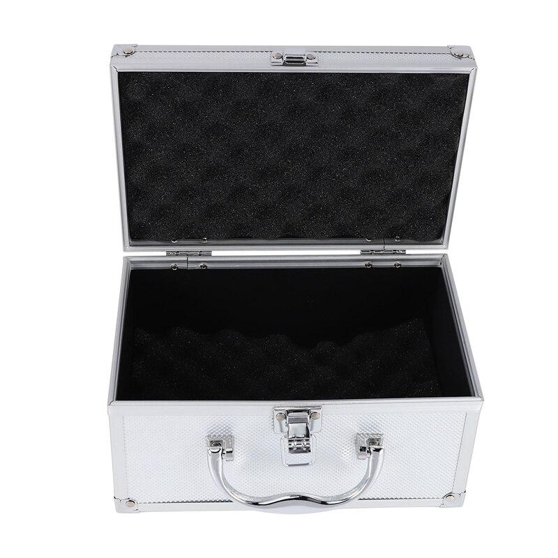 Caja de Herramientas de aleación de aluminio, equipo de seguridad portátil, caja de instrumentos estuche de exposición, Maleta, herramienta, caja de herramientas 230X150X125mm