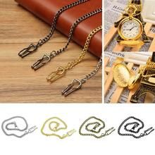 40% Dropshipping!!Unisex Vintage Alloy Pocket Watch Link Chain Necklace Jewelry Gift Decor