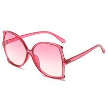 Fashion Ladies  Designer Sunglasses Women Men Luxury Oversize Gradient Sunshade Women Sunglasses UV4