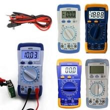 A830L LCD multimètre numérique ca cc tension Diode Freguency portable multitesteur testeur de courant affichage lumineux Buzzer fonctions
