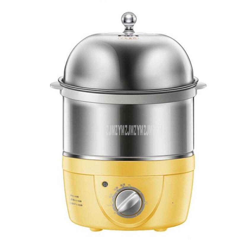 2 طبقة 360 واط متعددة الوظائف غلاية كهربائية سريعة آلة طهي البيض باخرة زجاجة التطهير 14 البيض المرجل الحليب الدافئ الكعك ZDQ-2153