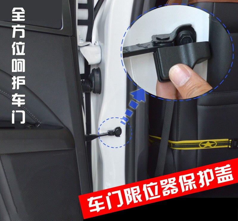 AliExpress - 4x Car Door Limiter Cover For Kia Rio 3 4 Ceed Sorento Cerato 2011 2018 2019 Car Accessories Lock Covers Styling
