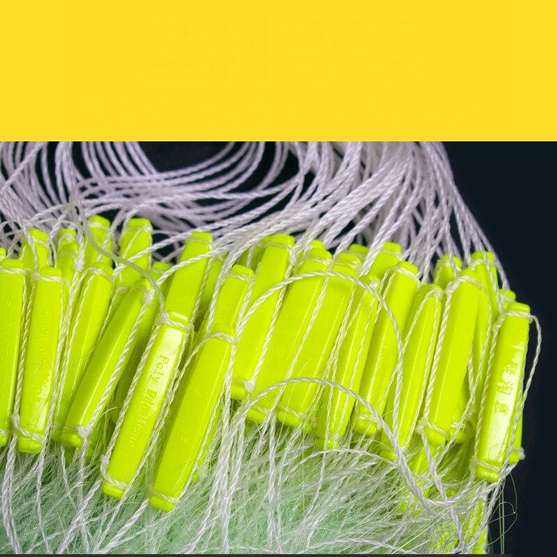 100M Length 1.5M 2M 3M Depth Three Layer Trap Nylon Fishing Net Trammel Sinking Fishing Network Carp Fishing Tools enlarge