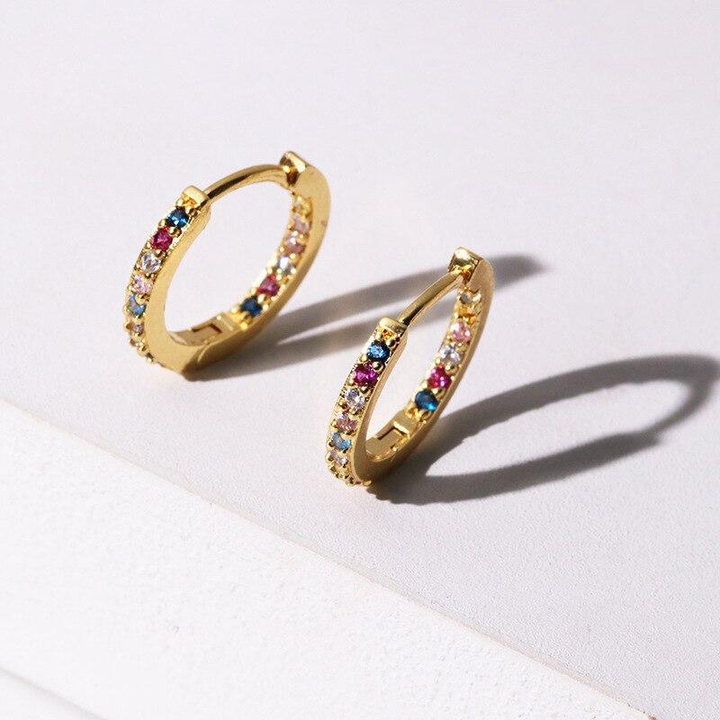 Fine zircon flash earrings, high-grade accessories earrings wholesale European and American foreign trade hot Earrings package
