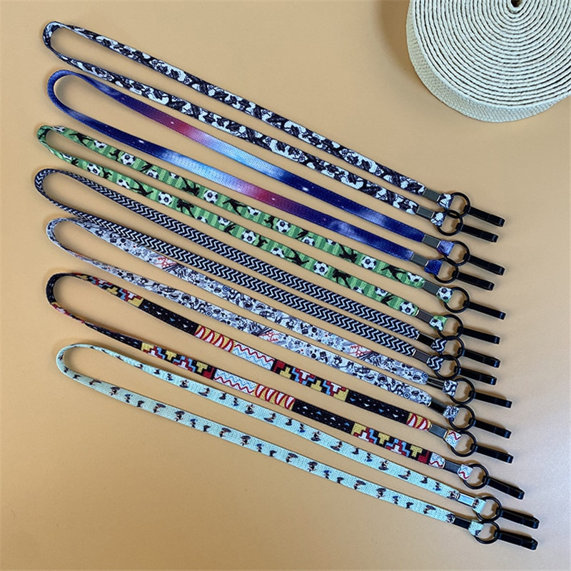 60cm Colorful Adjustable Face Mask Lanyard Handy Convenient Holder Rope Mask Anti-lost Anti-drop Lan