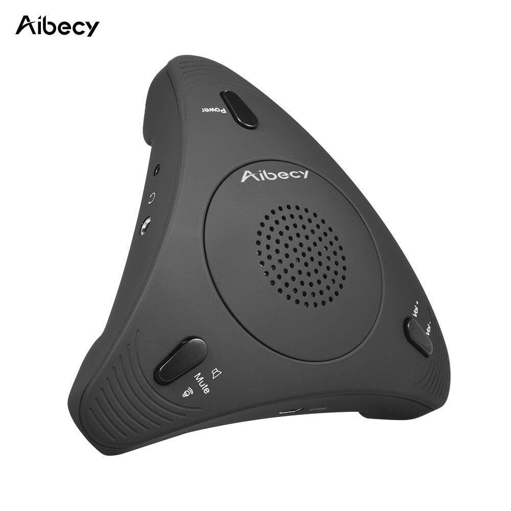 Aibecy USB Настольный компьютер конференц всенаправленный конденсаторный микрофон