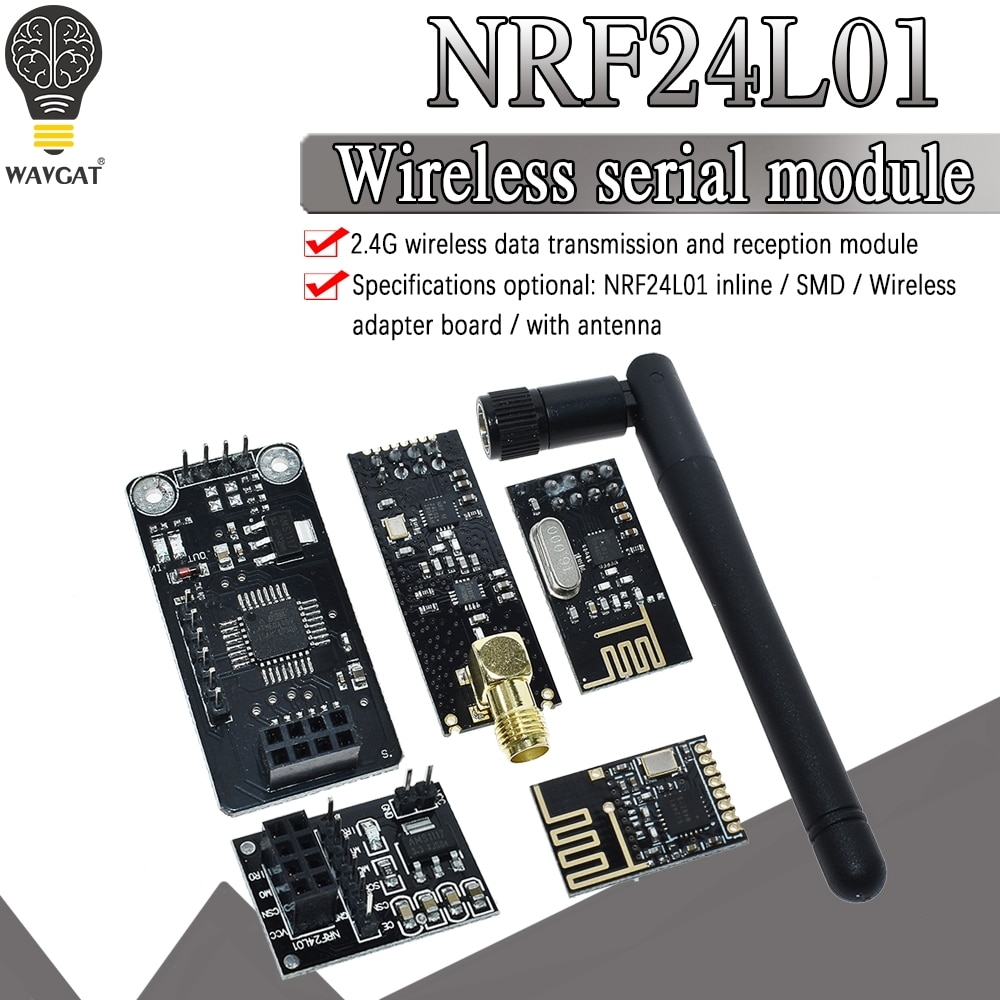 NRF24L01+ 2.4G wireless data transmission module 2.4GHz NRF24L01 upgrade version NRF24L01+PA+LNA 1000 Meters For Arduino