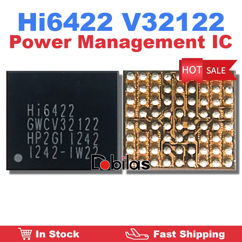 1Pcs/Lot Hi6422 V32122 GWCV32122 Power Management Supply IC Mobile Phone Integrated Circuits Replace