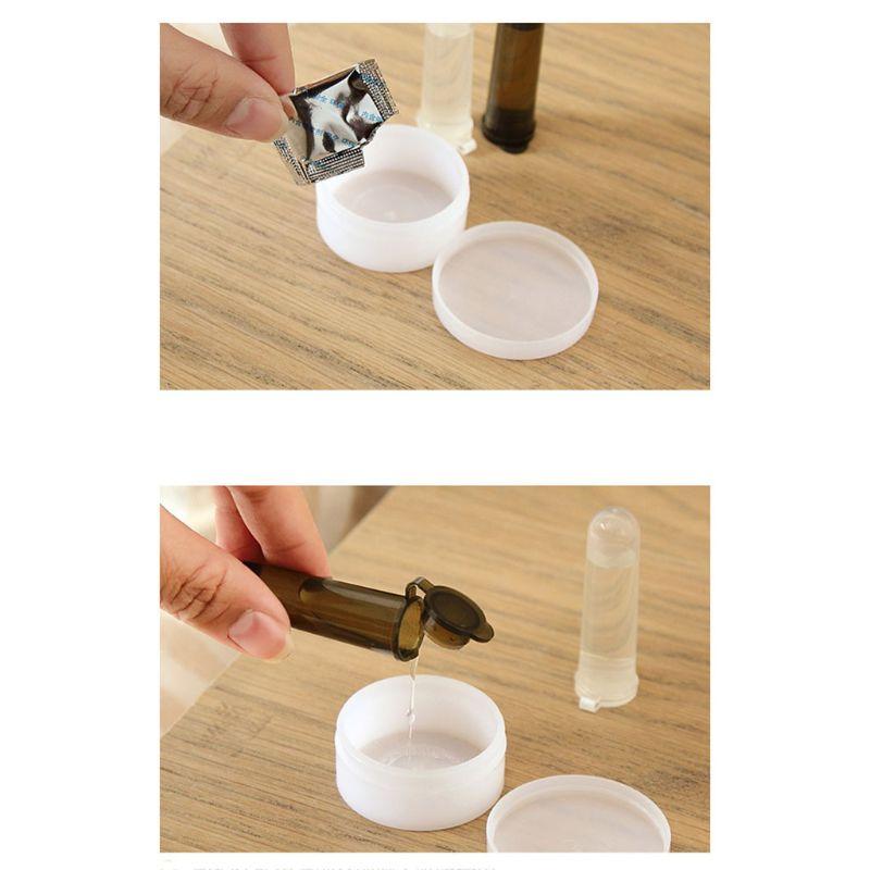 1 набор бытовой воздух формальдегид +% 28HCHO% 29 TVOC DIY Test Detection Kit Self-Test Box Test Tube Colorimetric Card Absorbent Detector