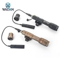 wadsn surefir tactical m600 m600c scout light full version 340 lumens hunting gun weapon flashlight with tailcap fit picaitnny