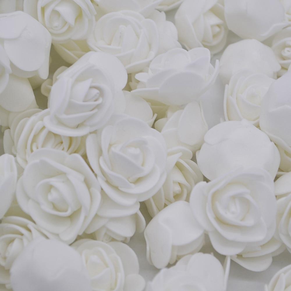 3cm artificiel Mini mousse Rose tête à la main bricolage mousse ours Scrapbook artisanat mariage maison fête cadeau décoration