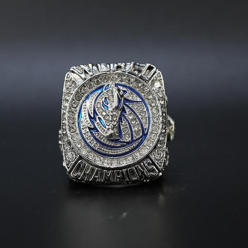 UUNICO Dallas 2011 Mavericks anillo de campeonato conjunto Fan colección regalo baloncesto Memorial aleación anillos