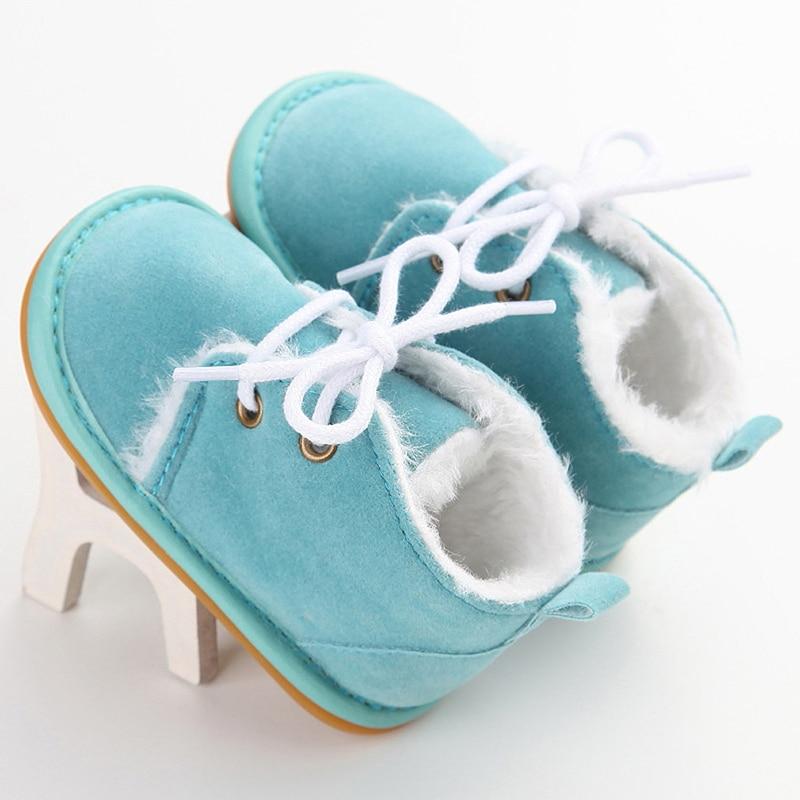 Brand Casual Newborn Infant Girl Boy Baby Snow Booties Fur Boots Winter Warm arrival Style little Ki