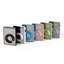 Mirror Clip USB MP3 Player Sport Support 8GB TF Card Portable Mini Music Media Player