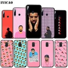 IYICAO Drake Rapper  Soft Case for Samsung Galaxy A9 A7 A8 A6 Plus 2018 A3 A5 2017 2016 & J6 2018 Cover