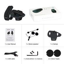 Nouvelle prise USB V8 casque de moto interphone casque casque pour casque 5 pilotes BT interphones FM Radio NFC télécommande