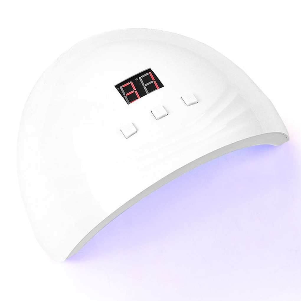 Nail Dryer UV Nails Lamp LED Gel Polish Drying Light Smart Sensor Function Portable Manicure Drying Lamp Nail Art Salon Supplies