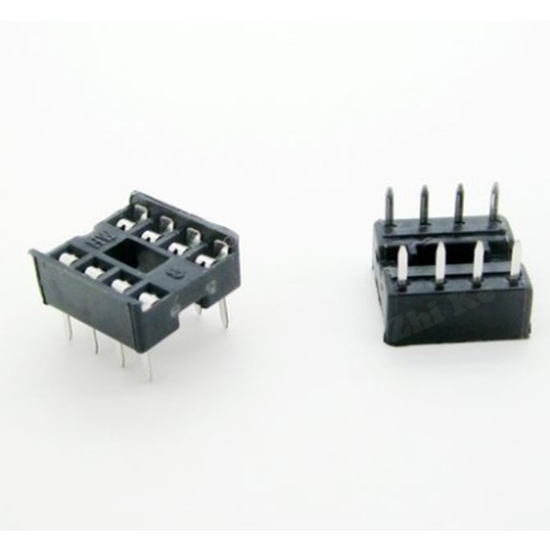 60 шт., 8 контактов, 8 контактов, DIP-8, 8 DIP, 8 DIP, ИС-адаптер, Стандартное основание чипа 2,54 мм