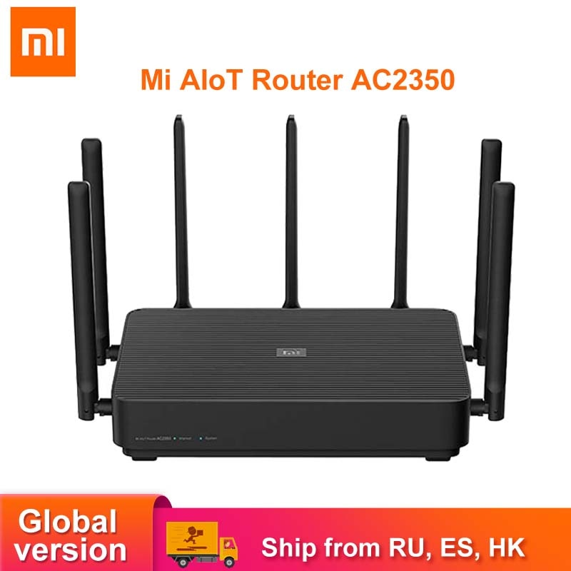 Xiaomi Mi AIoT Router AC2350 WiFi Wireless Router With 7 High Gain Antennas Gigabit 2183Mbps 128MB Dual-Band Wifi Repeater
