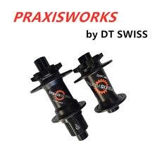 Praxisworks Schijfrem Racefiets Hub Straight Pull Afgedicht Lager Super Licht De Centrale Lockdrum As 32H Mtb Hubs dt Swiss 3
