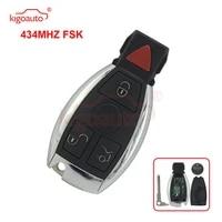 kigoauto iyzdc11 iyzdc07 iydc10 smart key 3 button with panic 434mhz for mercedes e350 c350 ml350 slk350 glk350 2009 2010 2011