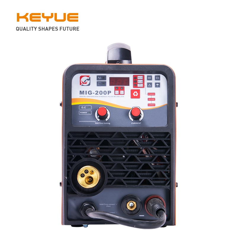 Inverter Pulse Single Phase 220V MIG Welding Machine Multifunction Synergic TIG MMA MIG Welder For Stainless Steel Aluminum Weld steel pulse steel pulse victims