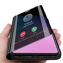 "Inteligente dormir espejo funda para samsung galaxy s10 lite s 10 s10lite 10 lite 2020 sm-g770f/ds 6,7 ""teléfono libro tapa"