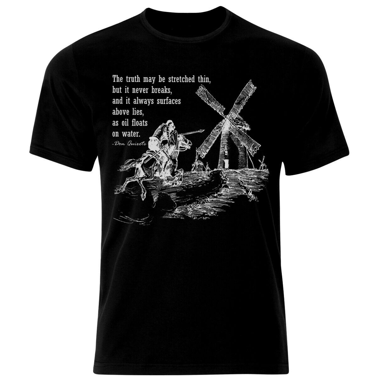 Don Quijote Sancho Panza citas Picasso de Miguel de Cervantes camiseta Camiseta...