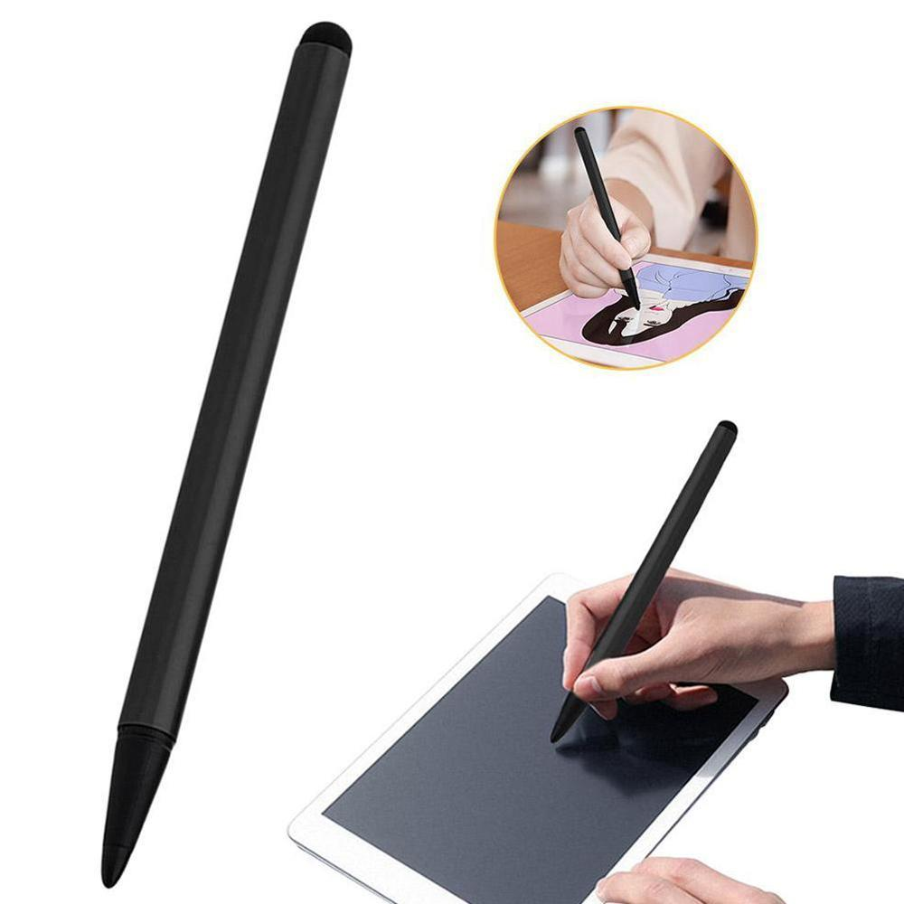 12cm capacitor ativo universal caneta de escrita para android samsung huawei micro tela mini iphone caneta de tela de lápis