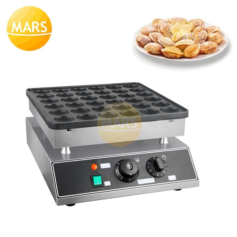Ontbijt Machine 36 Gaten Dorayaki Pannenkoek Maker Gietijzeren Poffertjes Pan Mini Pannenkoek Machine 110V/220V Met ce