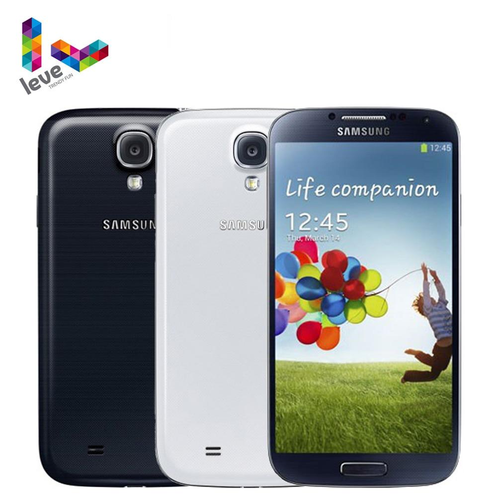 Original desbloqueado Samsung Galaxy S4 i9500 i9505 teléfono móvil 5,0