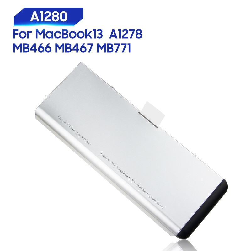 original 15 2v 76wh original battery for tdw5p series laptop Original Replacement Battery For MacBook 13 A1278 MB467 MB771 MB466 A1280 Genuine Laptop Battery 45Wh