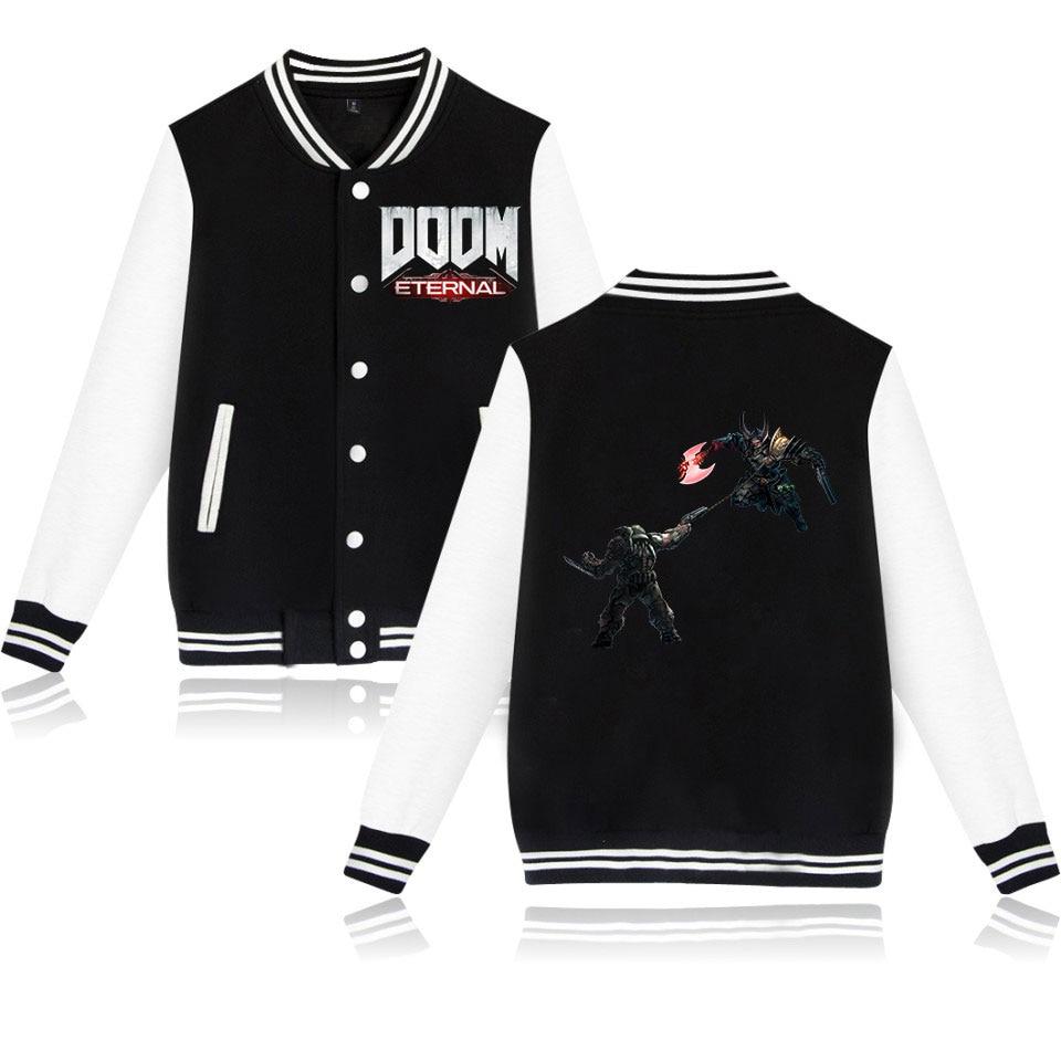 Мужская бейсбольная куртка DOOM warrior без капюшона, 4 цвета