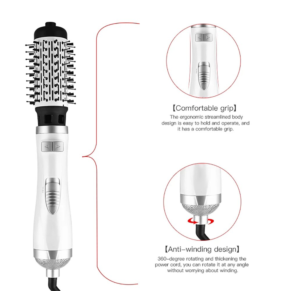 Tools Curler Hairdryer Rotational Hair Curling Comb enlarge