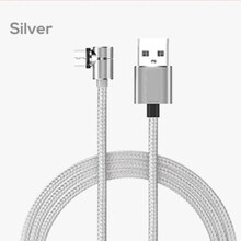 2020 Newest 90 Degree Rotate Magnetic Cable Micro USB Type C Cable Magnetic Charging Cable For iPhon