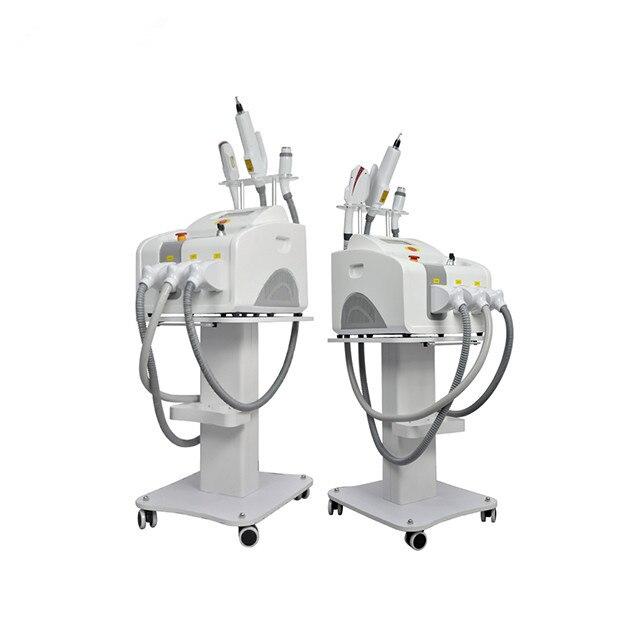 المهنية CE Aprova المحمولة 3 في 1 IPL SHR الوشم بالليزر إزالة الشعر وإزالة و RF آلة رفع الوجه