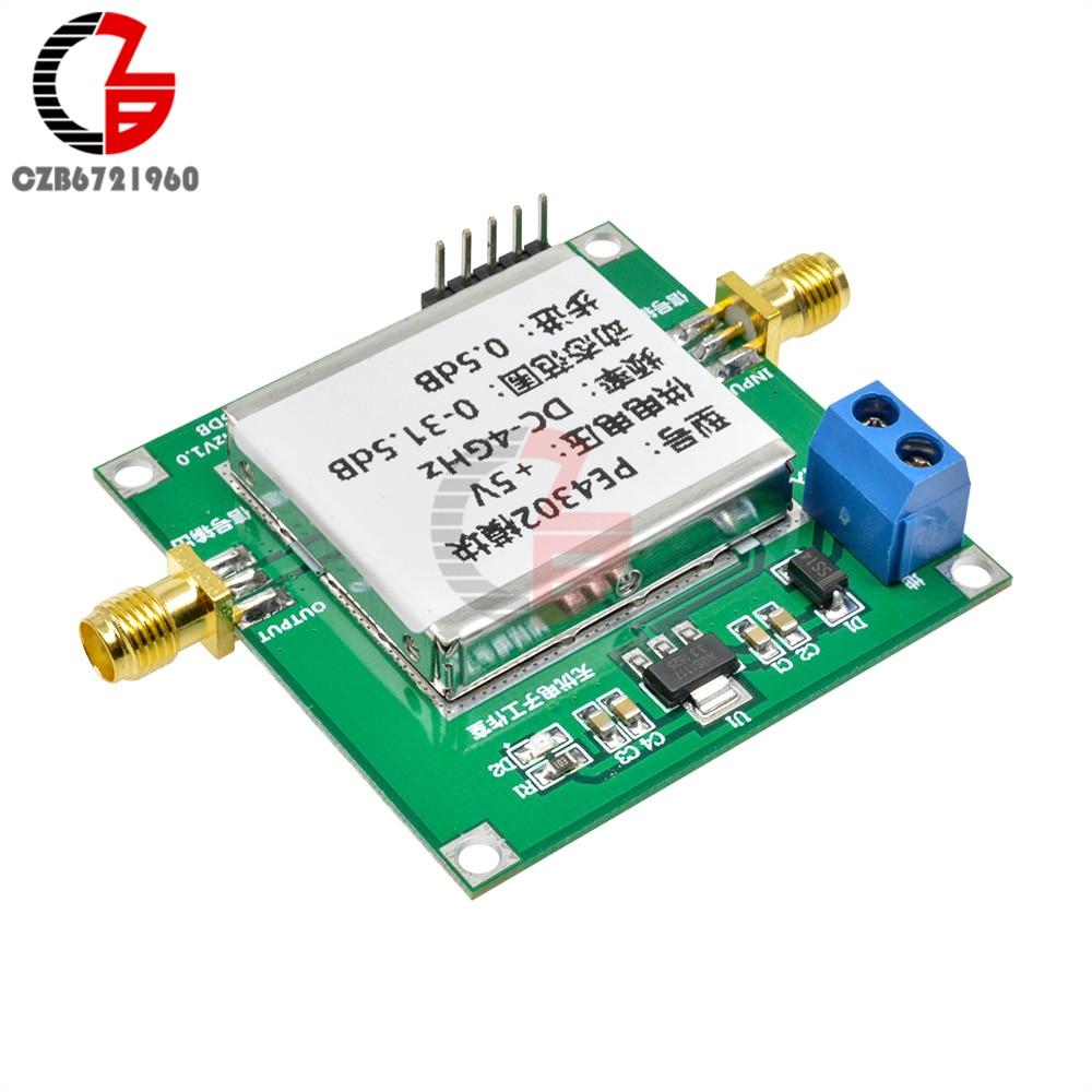 Módulo atenuador de paso Digital RF PE4302, alta linealidad, 5V, 4GHz, paso 0.5dB RF DSA