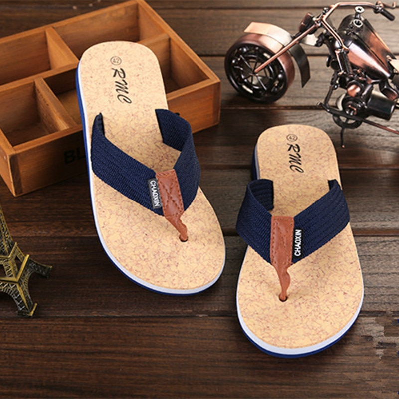 2020 Indoor And Outdoor Men's Slippers Summer Flip Flops Men's Slippers Fashion Beach Casual Shoes Slippers Men Slides