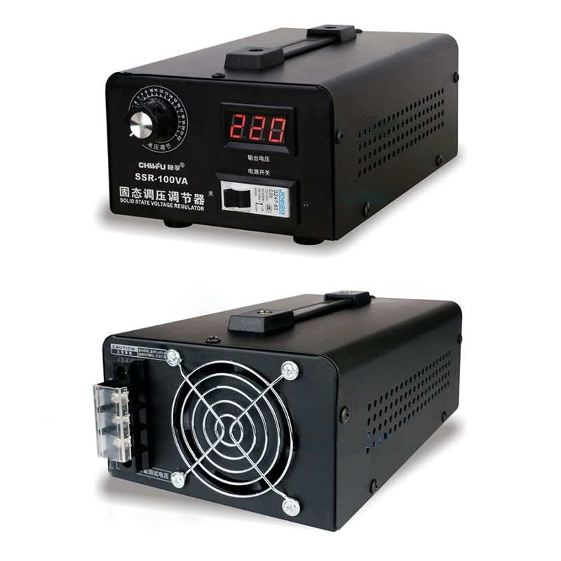 Однофазный регулятор напряжения переменного тока 220 В, электронный кремниевый регулятор напряжения А